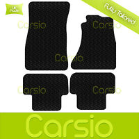 Black Fully Tailored Rubber Car Floor Mats For Audi A5 2009 - 2015 Sportback