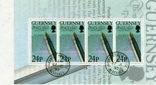 3 Guernsey    4  stamps sheets