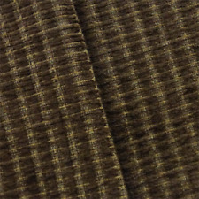Walnut Brown Valdese Redeem Chenille Upholstery Fabric, Fabric By The Yard