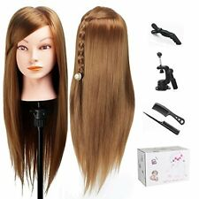 TopDirect 20 Mannequin Head Hair Synthetic Cosmetology Maniquin Manikin Hairdre
