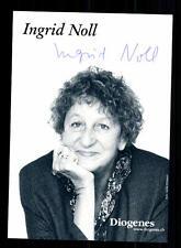 Ingrid Noll AUTOGRAFO MAPPA ORIGINALE FIRMATO # BC 101659