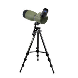 "SV28 Spotting Scope FMC 25-75x70mm Waterproof Angled Zoom+SV101 54""Travel Tripod"