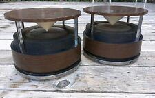 Vintage Zenith Mid Century Modern Circle Of Sound Speakers omnidirectional