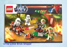 Lego Star Wars 9489 Endor Rebel & Imperial Trooper Battle - INSTRUCTIONS ONLY