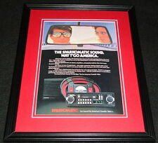 1983 Sparkomatic Sound Car Stereo Framed 11x14 ORIGINAL Advertisement