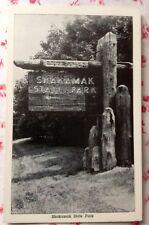 Vintage RPPC Shakamak State Park, Jasonville, Indiana Real Photo Postcard