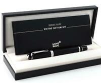Montblanc Boheme Platinum Line Silver Black Roller Ball New in Box. SALE