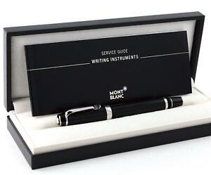 Montblanc Boheme Platinum Line Noir Silver Roller Ball New in Box. SALE