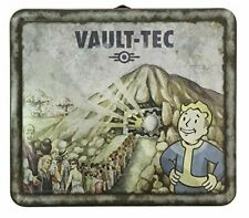 Fallout 4 Tin Tote Lunch Box Vault Tec Weathered