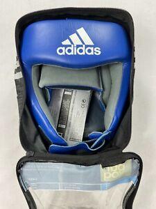Unisex Adidas XL Amateur Leather Expert Boxing Headguard AIBAH1 Sz XL