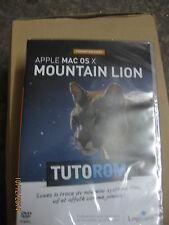 TUTOROM Formation Mac OS X Mountain Lion sur DVD neuf