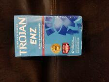 Trojan Condoms - ENZ Lubricated - 12 count, Exp.  2022