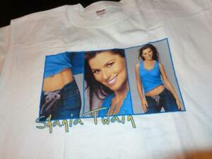 Shania Twain *2004 Adult Large T-Shirt From Her 2004 UP! US Tour/Three Images!