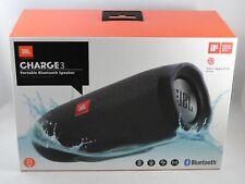JBL Charge 3 Waterproof Portable Bluetooth Speaker- Black opened but unused.