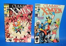 Classic X-MEN numeros 14-15 edicion americana 1987 buen estado