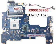 SCHEDA MADRE MOTHERBOARD per Toshiba Satellite L670 - L675 - L670-10K NALAA U01