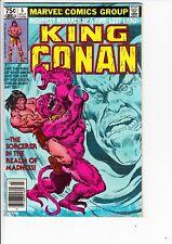 KING CONAN #5 (Marvel, 1981):  John Buscema art  --  FN+