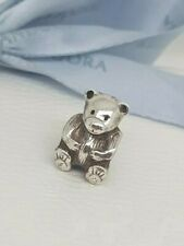 Authentic Pandora Teddy Bear Charm Bead 790395 Retired