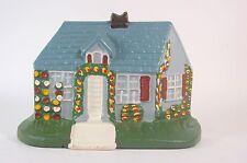 Cast Iron Doorstop Cottage House