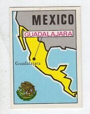 figurina PANINI FOOTBALL CLUBS NUMERO 196 MEXICO