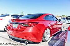 Rear Trunk Lip Spoiler for Mazda 6 / Atenza GJ 2012-2017 Color 41V Soul Red