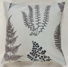 Contemporary Fern Cushion Cover In Sanderson Fabric