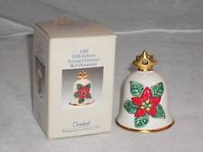 Goebel, '88 Annual Christmas Bell Ornament, #51775, Mib