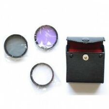 46mm 3 Piece Glass Filter Kit + Case 46 mm UV CPL FLD