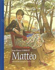 Tirage de Luxe GIBRAT Mattéo Troisième Epoque Version Bédécouverte 4 ex-libris
