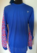 BNWT Viga Cycling Top Blue with Union Jack Pattern Olympics Medium (23)
