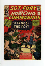 SGT. FURY And His HOWLING COMMANDOS #6 - GREAT JACK KIRBY COVER & ART - 1964