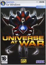 Universe at war earth assault pc dvd rom gioco game nuovo sigillato ita