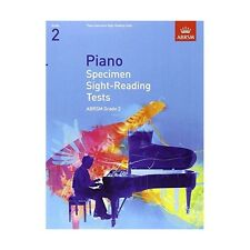 ABRSM Piano Specimen Sight Reading Tests, Grade 2 - Same Day P+P