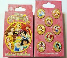 Disney Collectible Pin Pack PRINCESS CAMEOS Mystery Box of 2 Pins Sealed NEW