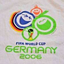 Vintage FIFA World Cup Germany 2006 T-shirt White Men S