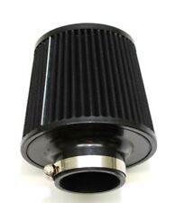 "1320 PERF FAB 3"" Universal air filter cone reusable black air filter &clamp"