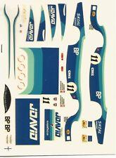 1/43 MINI RACING DECAL PORSCHE 956 FITZPATRICK N°11  LE MANS 1983