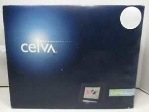 CEIVA DIGITAL PHOTO PICTURE FRAME BLACK WALL MODEM INTERNET SHR508A-US