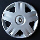"Renault Clio Megane Scenic Style Chrome ONE 14"" Wheel Trim RE 417AT 14"""