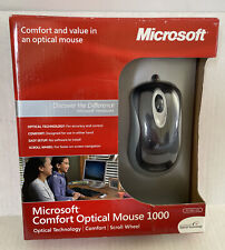Microsoft Comfort Optical Mouse 1000 New/Sealed Brand New Unopened Package