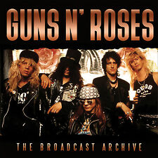 GUNS N ROSES New Sealed 2017 THEIR BROADCAST ARCHIVES DVD & 2 CD BOXSET