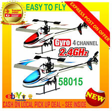 New Yi Zhan 58015 4CH Gyro Micro RC Helicopter 2.4GHz Single Blade Toy Model RTF