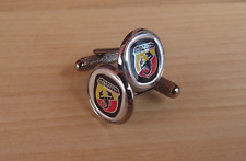 Gemelli da polso Camicia Abarth idea Regalo Cufflinks Shirt merchandising