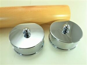 (Lot of 2) Medium End Cap  for 55mm Staircase Timber Bannister Handrail
