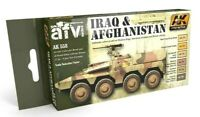 AK Interactive Iraq & Afghanistan Colours Acrylic Paint Set For Models