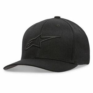 Alpinestars Ageless Fashionable Casual Wear Curve Cap Black / Black