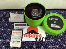 WIRED x Super Mario Bros. Watch LIMITED EDITION NINTENDO JAPAN Model AGAK702