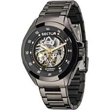 Orologio Automatico Uomo SECTOR 720 R3223587001 Acciaio Nero Scheletrato