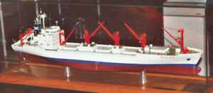 IG LLOYD Modellbauplan Kühlschiff MS WALTER JACOB im Maßstab 1:100