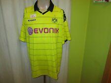 """Borussia Dortmund Kappa Deutscher Meister Trikot 2010/11 """"EVONIK"""" Gr.XXL TOP"""
